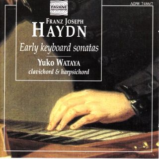 Haydn Keyboard Wataya Early Sonatas cover