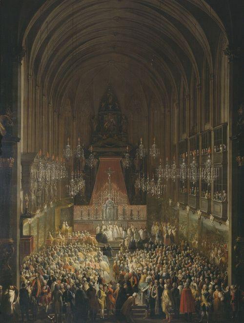 Meytens Wedding of Jos II in 1760