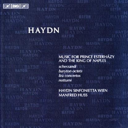 Huss Haydn Esterhazy & Naples cover
