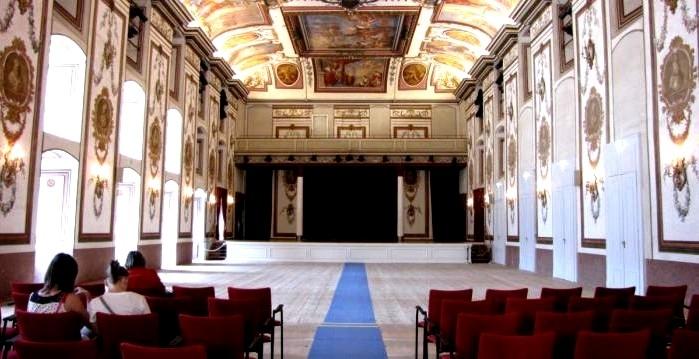 Music Room in Schloss Esterházy Eisenstadt