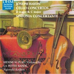 Haydn Cello Concertos Suzuki cover