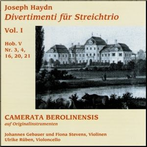 Haydn Camerata Berolinensis String Trio vol 1