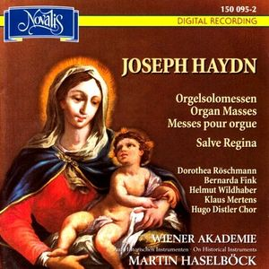 Haydn Organ Masses Haselböck cover