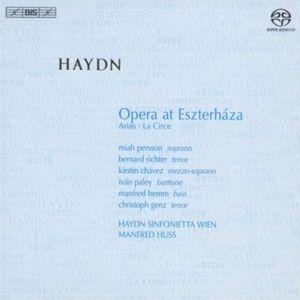 Huss Opera at Esterhaza cover
