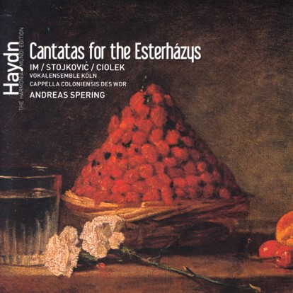 HM Esterhazy cantatas cover