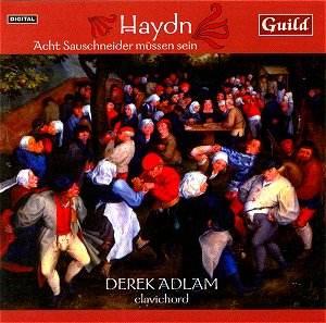 Haydn Keyboard Adlam clavichord cover