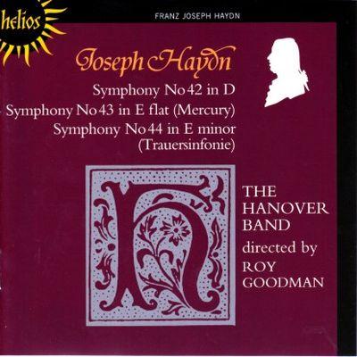 Haydn Symphonies 042 - 044 Goodman cover