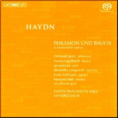 Haydn Philemon & Baucis Huss cover