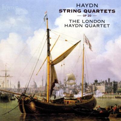 Haydn Londons Op 20 cover