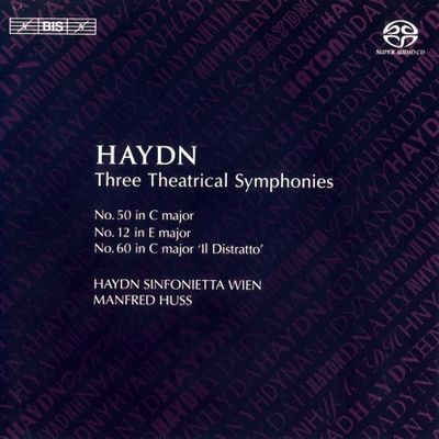 Haydn Huss 3 Theatrical Symphonies cover