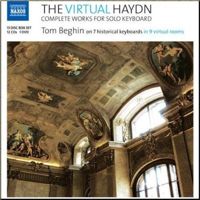 Haydn Keyboard Beghin cover