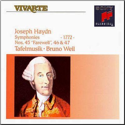 Haydn 45-47 Tafelmusik