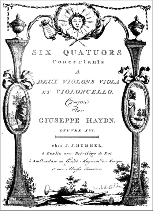 Cover page of Opus 20 sm