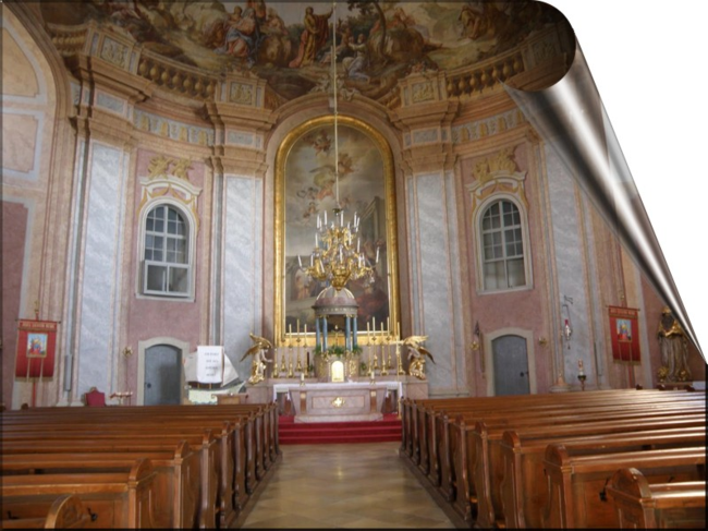 Bergkirche Altar & interior sm