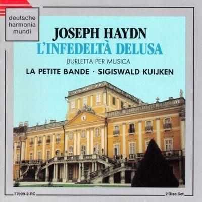 Haydn L'infedeltà delusa Kuijken cover