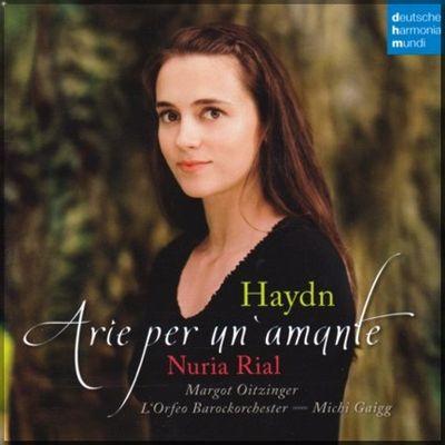 Haydn Arias Nuria Rial cover