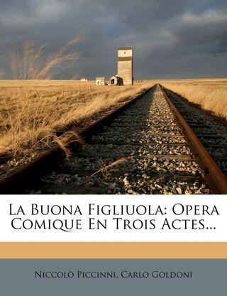 1778 Buona Figliuola libretto cover