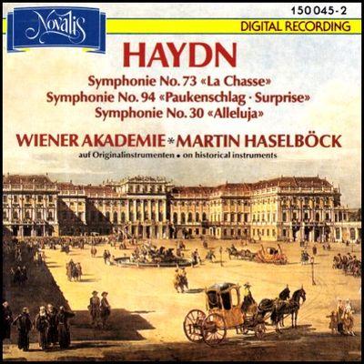 Haydn Symphonies 030 073 & 094 Haselböck