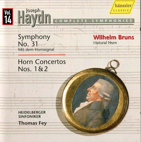 Haydn the 2 Horn Concertos Fey