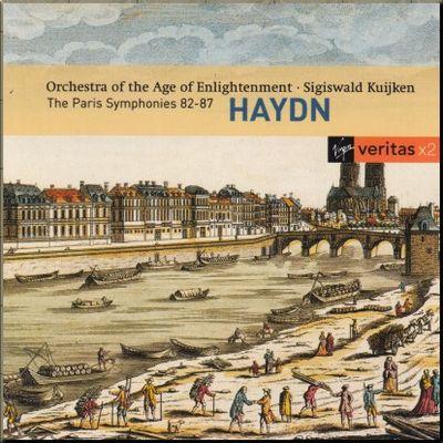 Haydn Kuijken 082_087 Paris Symphonies cover