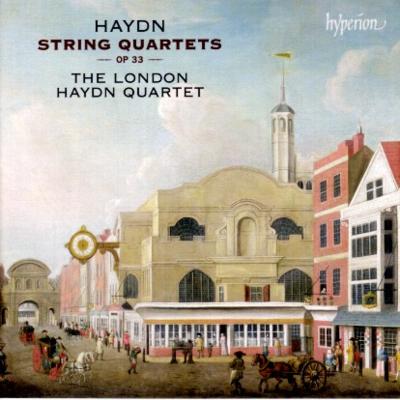 Haydn Londons Op 33 cover