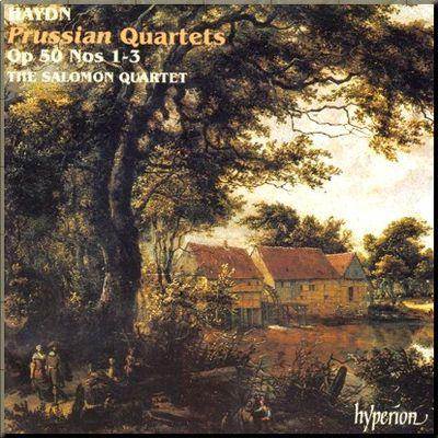 Haydn Salomon 4tet Op 50 1_3 cover
