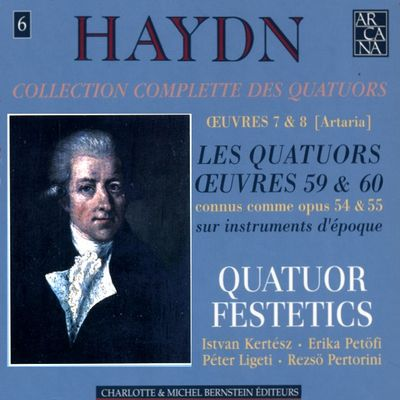 Haydn Festetics Op 54 cover