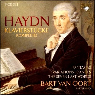 Haydn Keyboard Oort Pieces cover larger