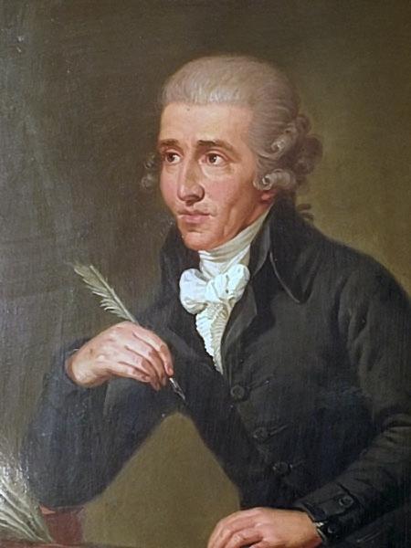 Haydn portrait Gottenbrun depiction circa 1770