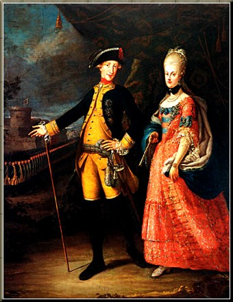 1790 Ferd 4 & Maria Carolina