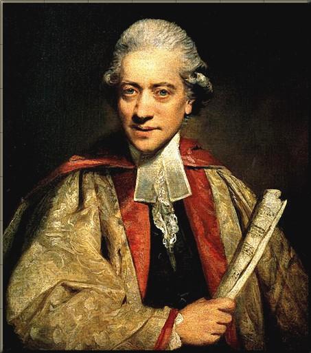 1791 Charles Burney by Joshua Reynolds in 1781