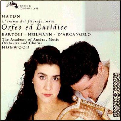 Haydn Orfeo & Eurydice Hogwood cover