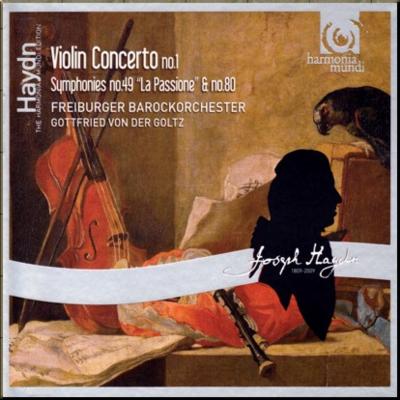 Haydn Symphony 49 & 80 & V C 1 Freiburgers cover