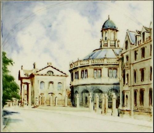 1791 Sheldonian Theater exterior Spencer Edge
