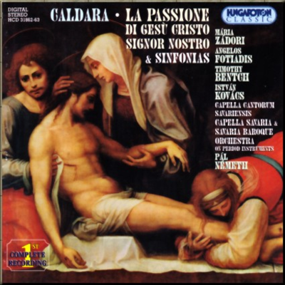 Caldara Passion of Jesus oratorio