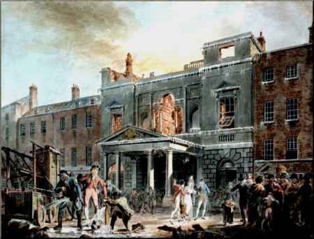 1792 Exterior of the burned out Pantheon JMW Turner reduced