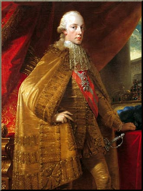 1792 Francis II in 1792 at 25 years old Painter Unk