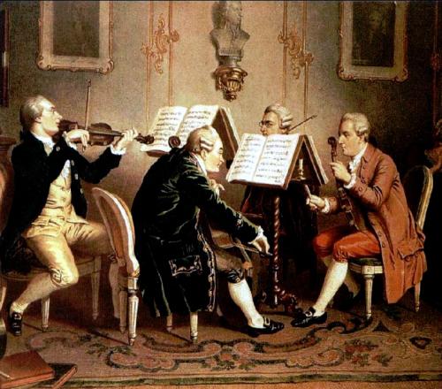 18th century string quartet Henze