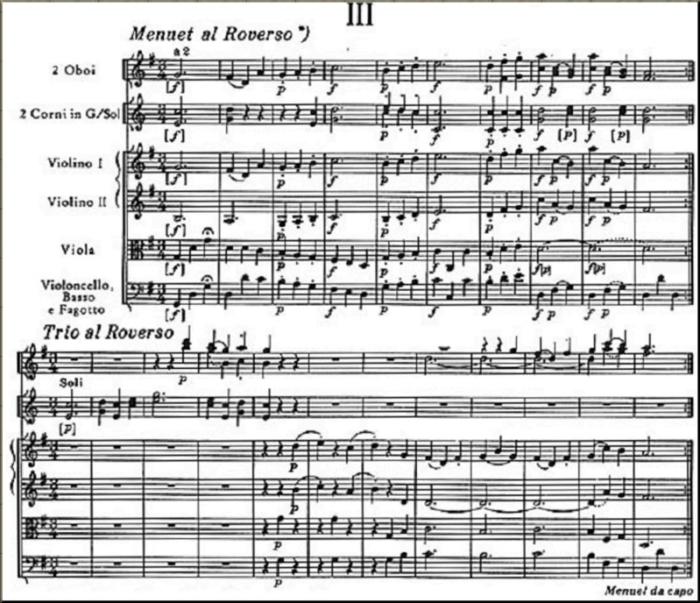 Symphony 47 minuet