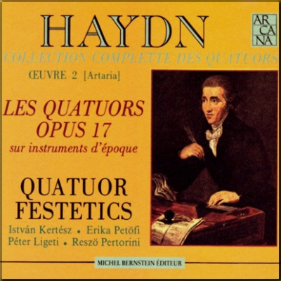 Haydn Festetics Op 17 cover