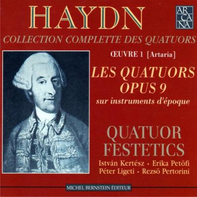 Haydn Festetics Op 09 cover
