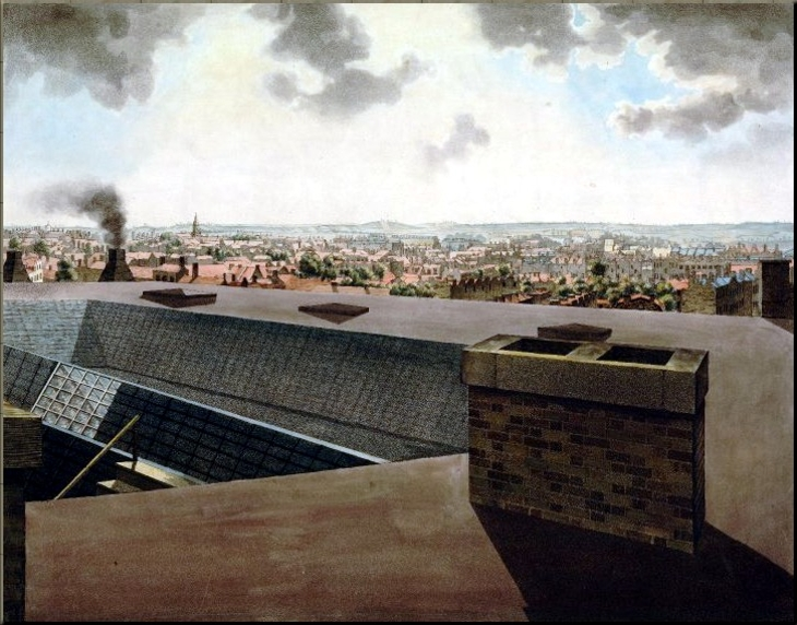 1794 Panorama from the roof of the Albion Mills - Rob Barker 1792 3 of 6