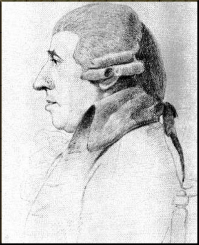 1794 20 March Pencil drawing by George Dance Version A