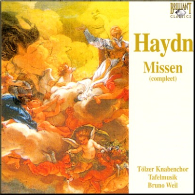 Haydn Masses Weil Brilliant box cover