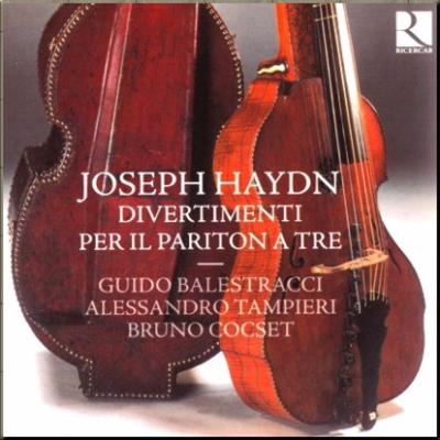 Haydn Baryton Trios Ricercar cover