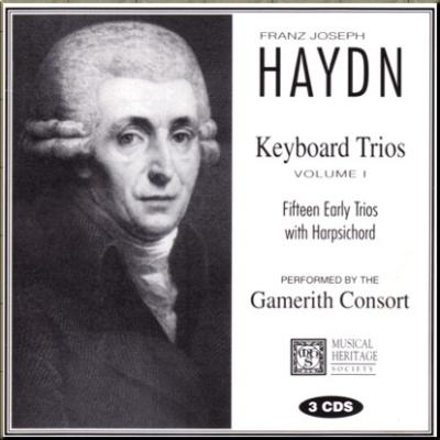 Haydn Trios Gamerith Consort Vol 1