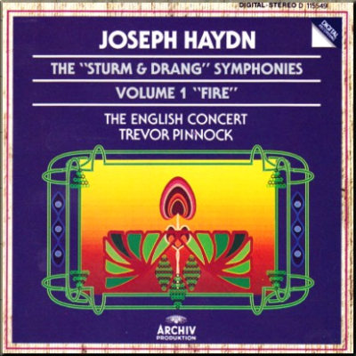 Haydn S & D Symphonies Pinnock vol 1 cover