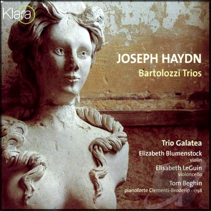 Haydn Bartollozi Trios cover