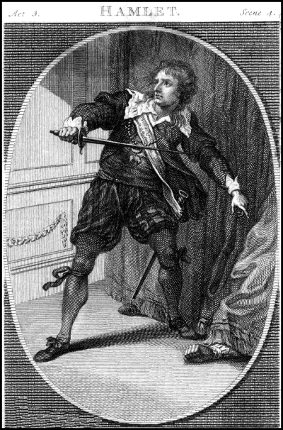Charles Kemble as Hamlet - London 1775