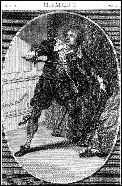 Charles Kemble as Hamlet - London 1775